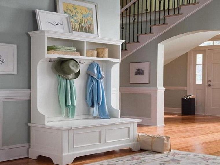 arredare-casa-idee-ingresso-mobile-legno-bianco