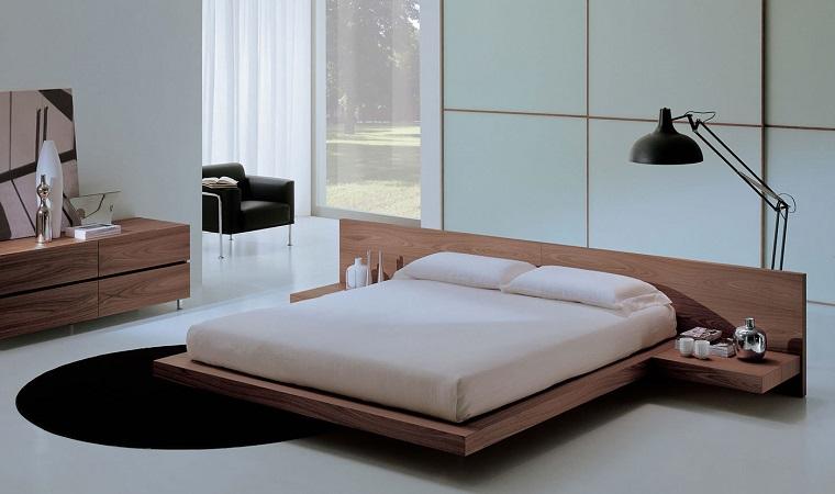 arredare-casa-idee-mobili-moderni-letto-legno-sospeso