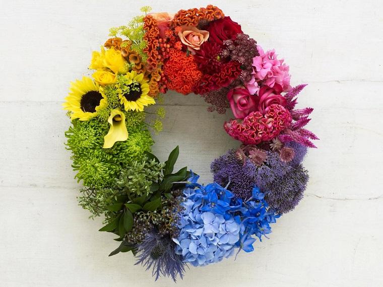 composizioni-di-fiori-idea-ghirlanda-variopinta