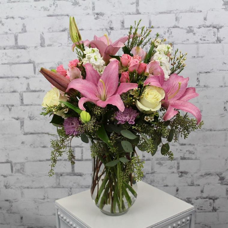 composizioni-di-fiori-lilium-orchidee-rose