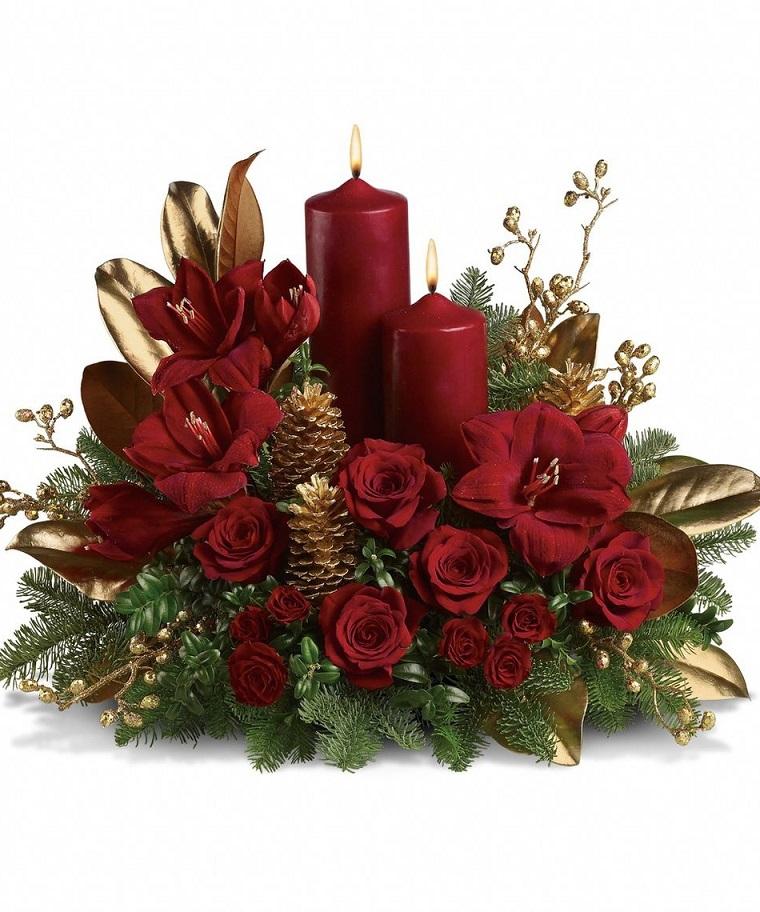 composizioni-floreali-rose-candele-natale