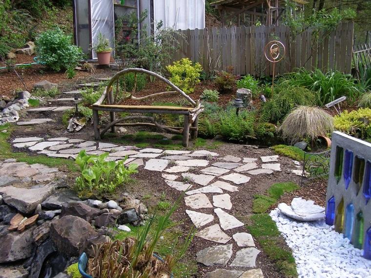 giardini con sassi-idea-viale