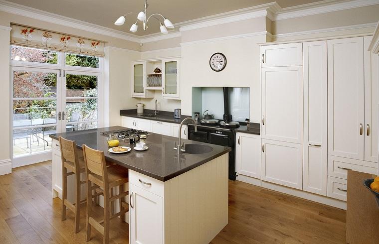 idee arredo casa-cucina-stile-classico-contemporaneo