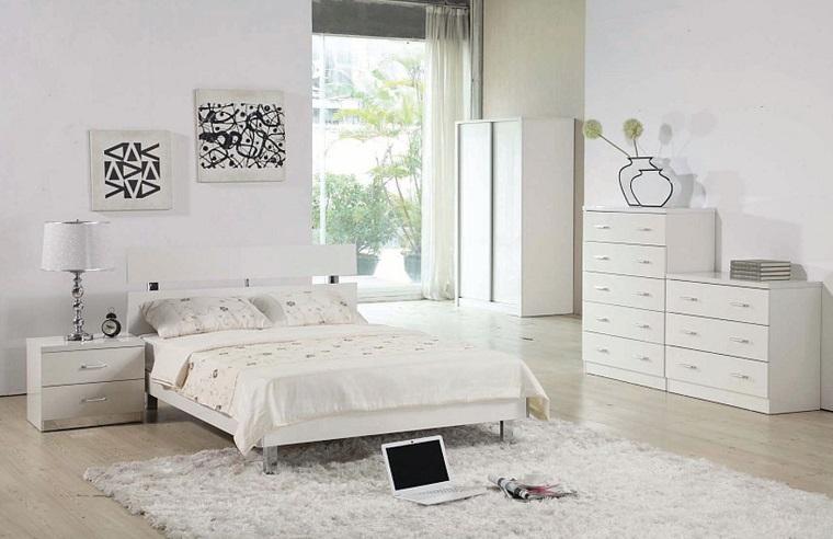 idee arredo casa-mobili-bianchi-camera-parquet-chiaro