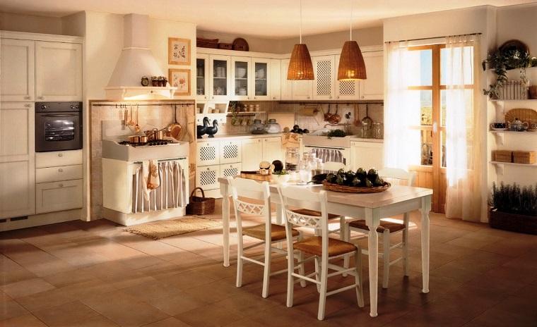 idee-per-arredare-casa-country-cucina-tavolo-pranzo