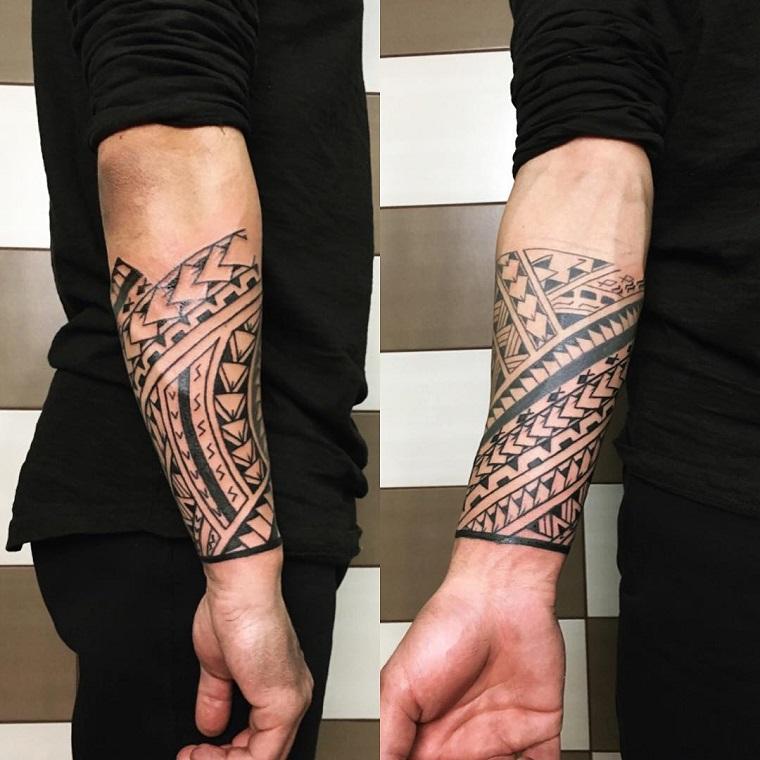 maori,tattoo,idea,avanbraccio