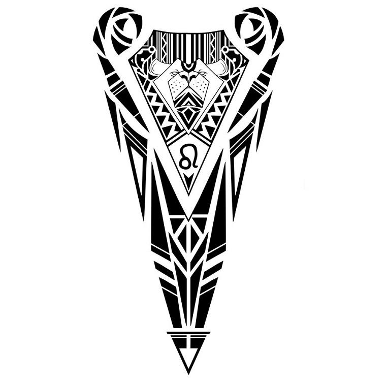 maori-tattoo-idea-forma-triangolare