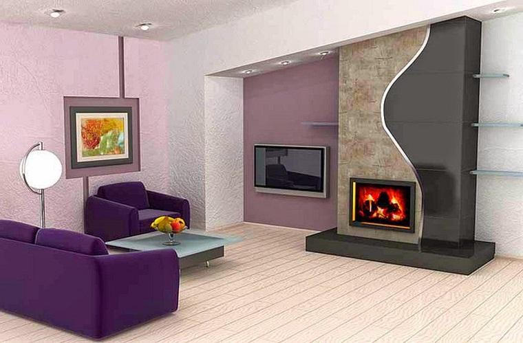 parquet chiaro-idea-arredare-salotto-moderno