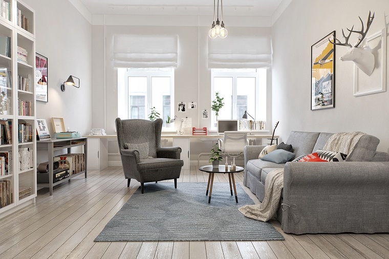 parquet chiaro-pavimento-salotto-nordico