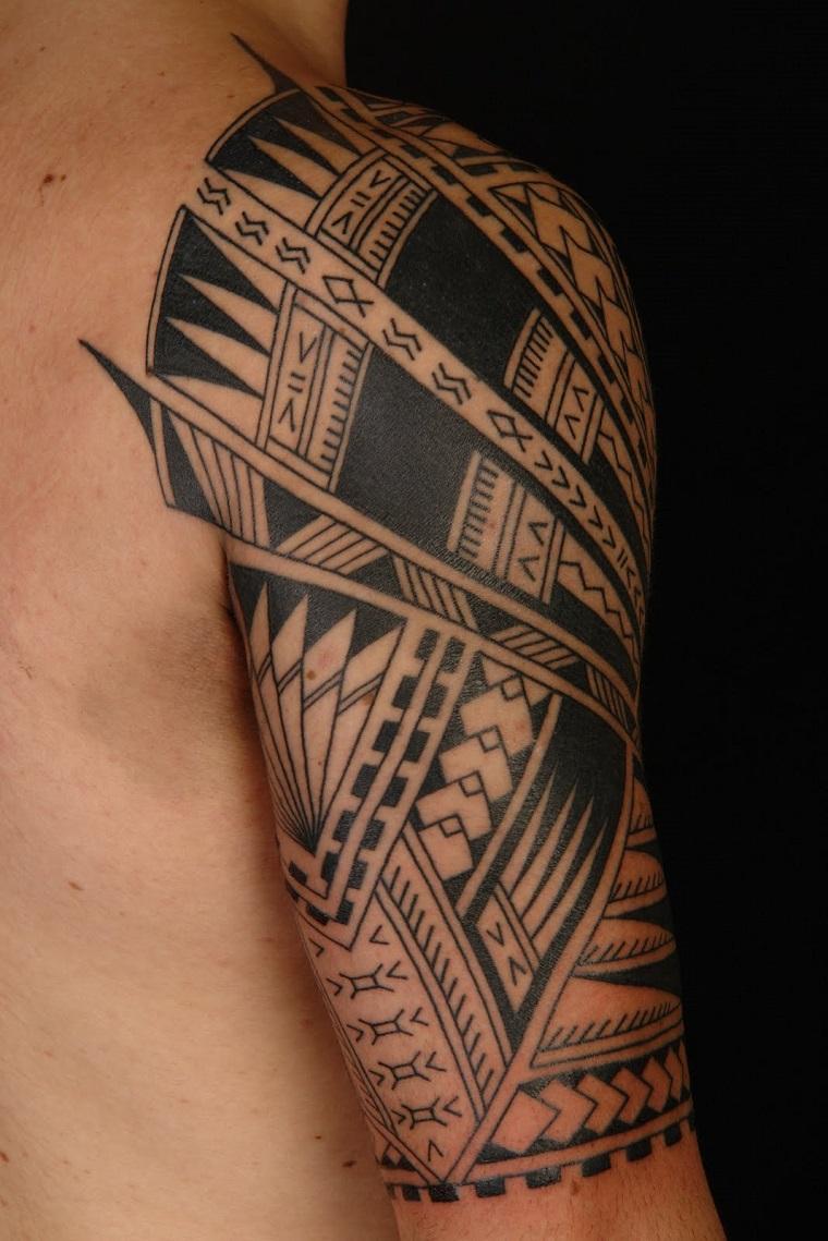 tatuaggi maori-disegni-braccio