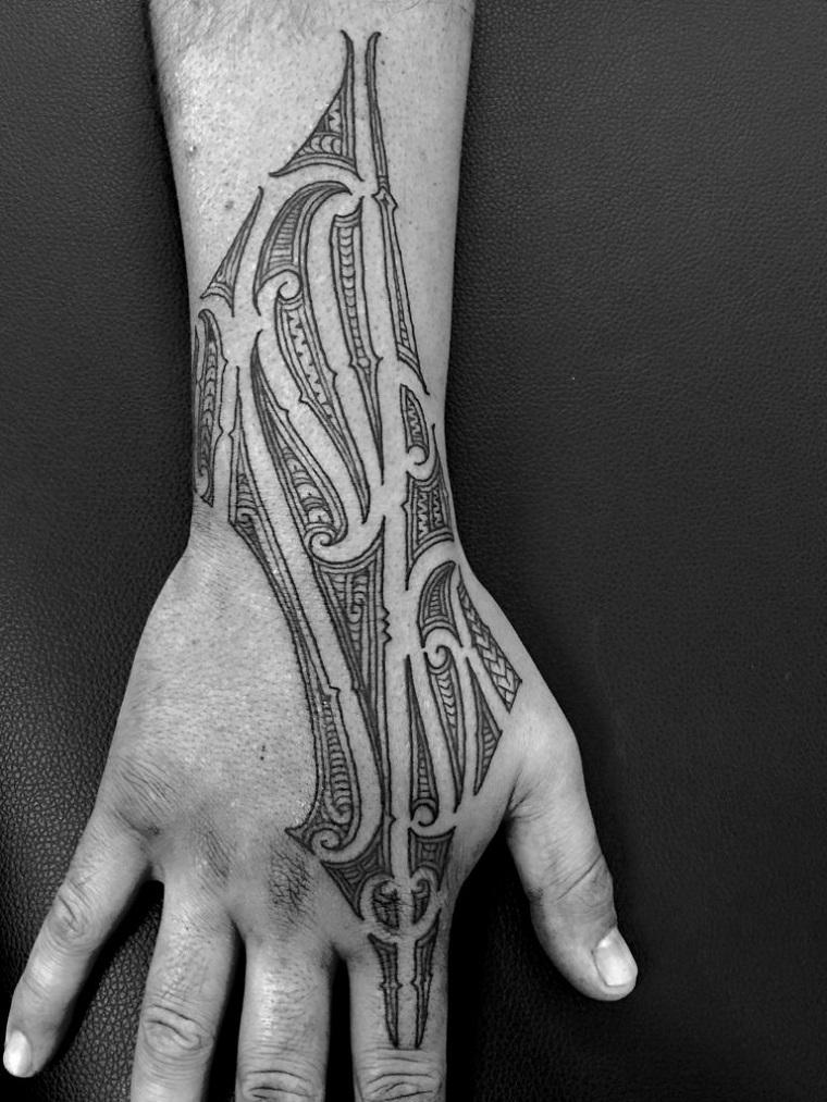 tatuaggi maori-idea-mano
