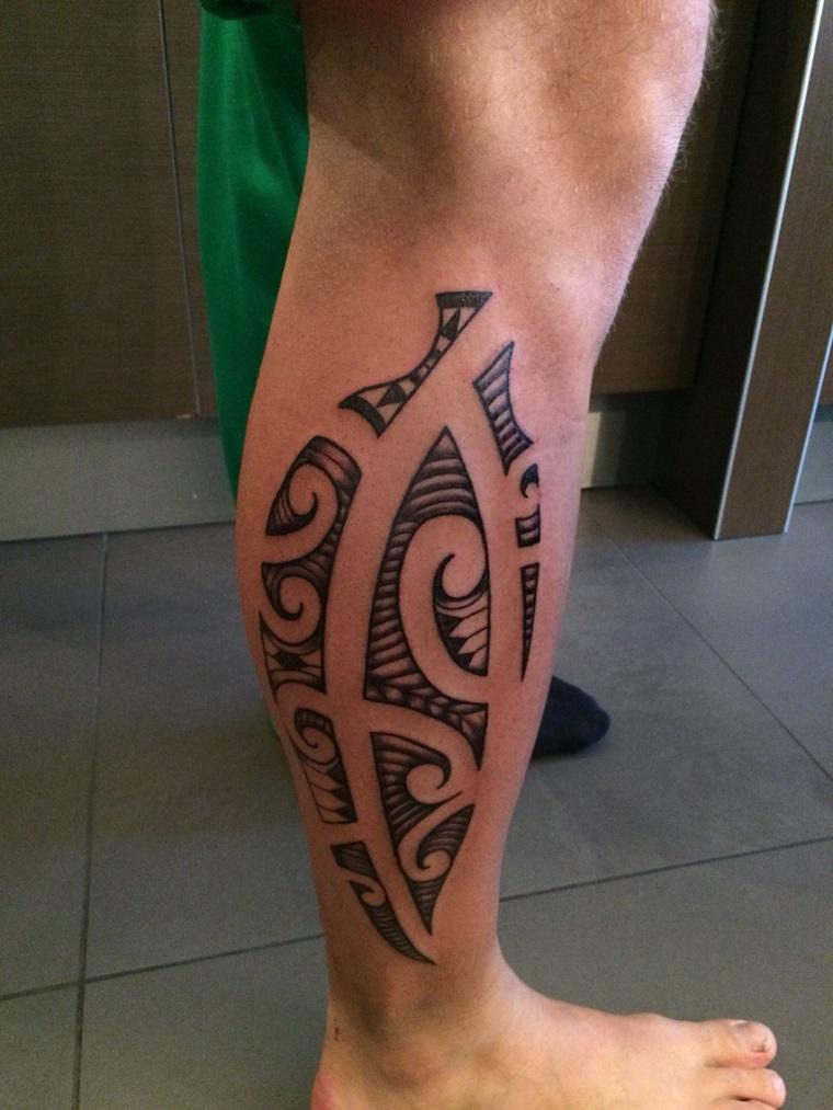 tatuaggi maori-idea-polpaccio