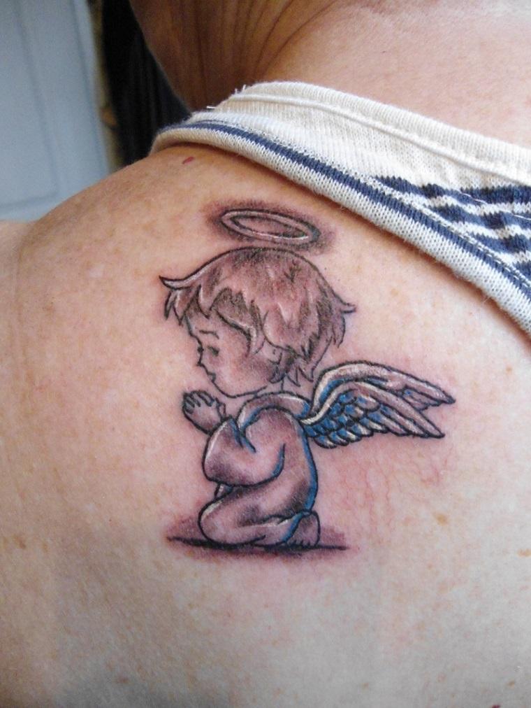Nuova collezione Tatuaggi Angioletti Stilizzati ...