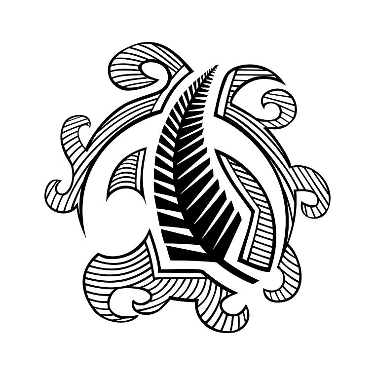 tatuaggio-maori-idea-foglia-felce