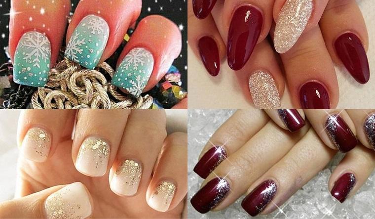 unghie natalizie-quattro-idee-colorate