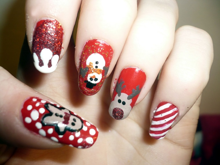unghie natalizie-una-diversa-altra