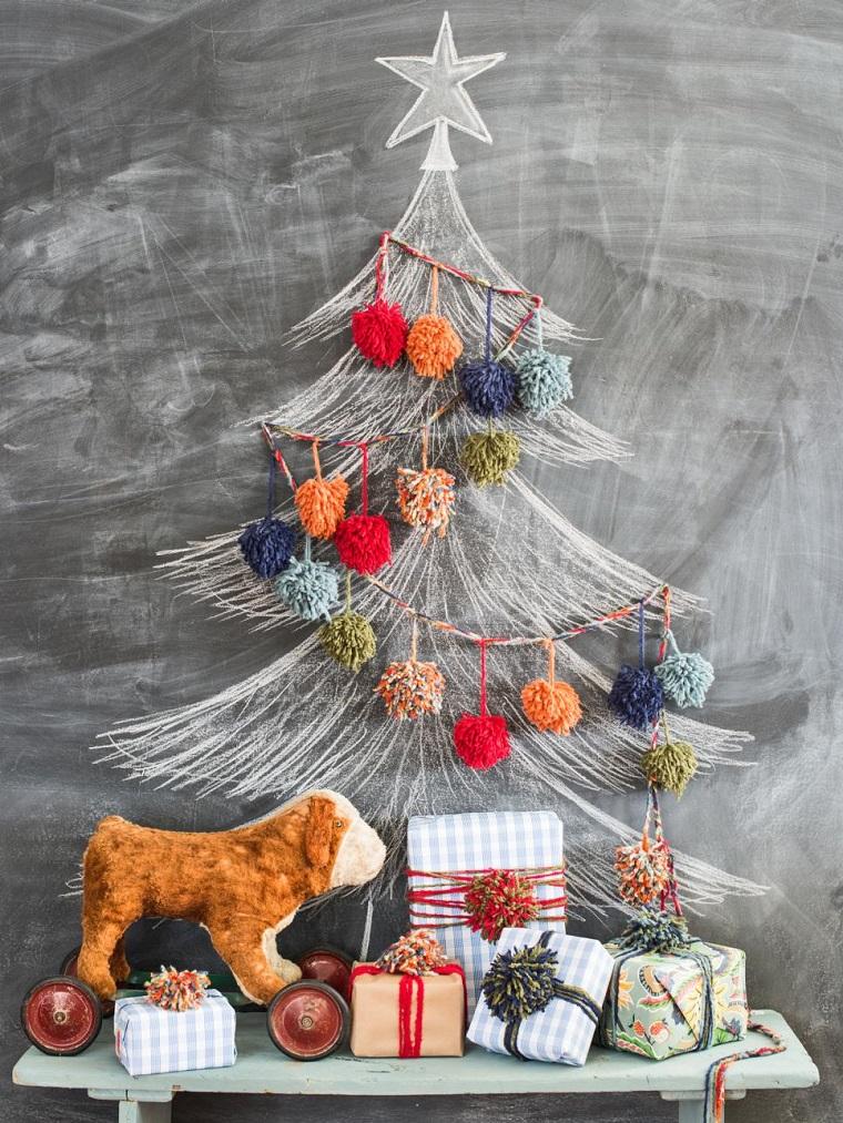 albero-di-natale-particolare-lavagna