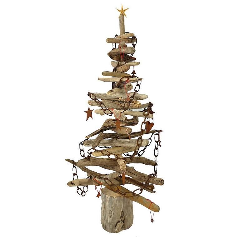 albero-di-natale-particolare-legni-catene