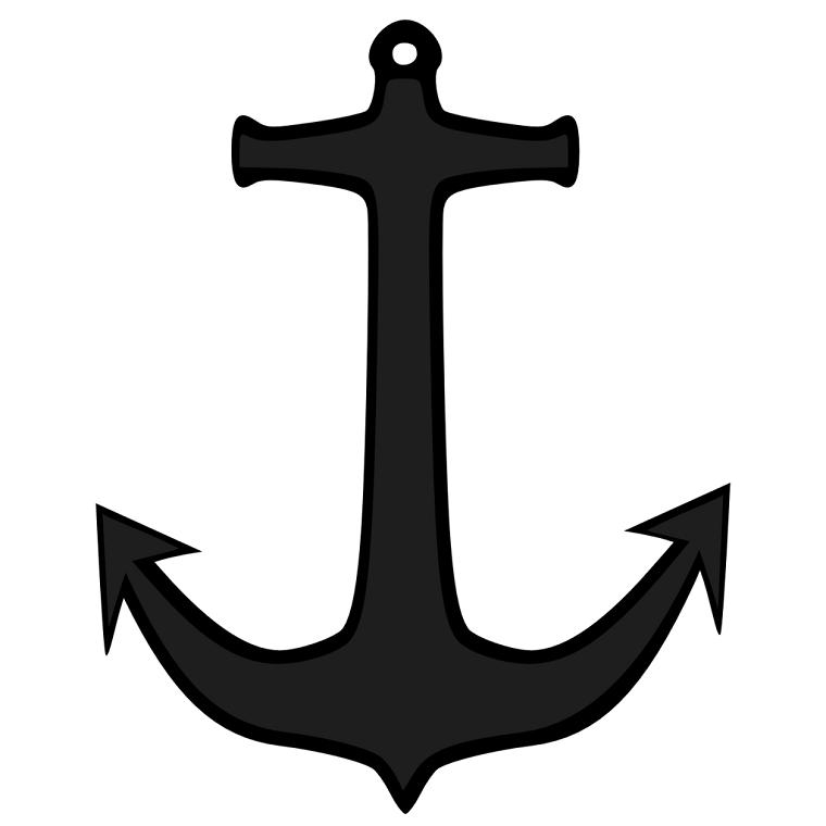 ancora-tattoo-classica-grigia-nera