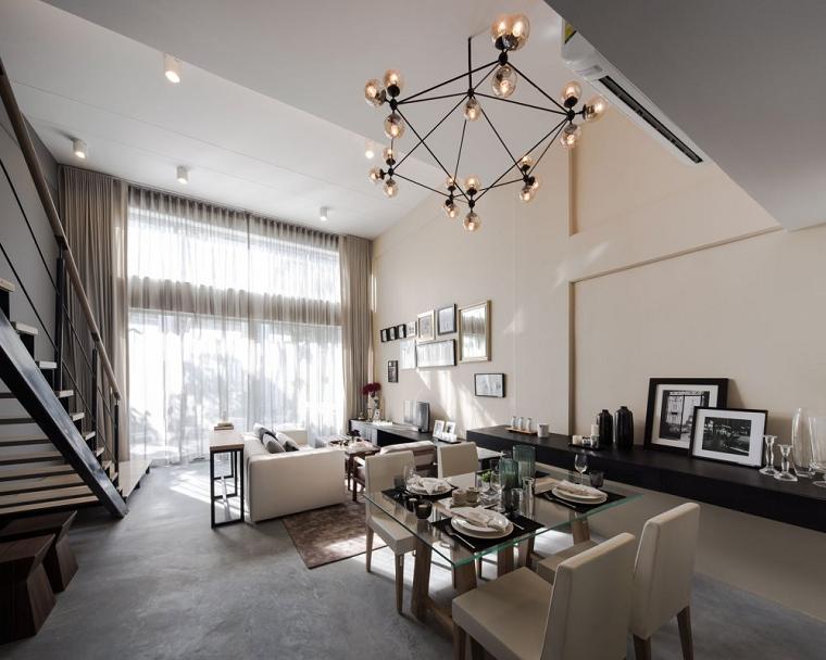 arredamento salotto moderno-dettagli-eleganti