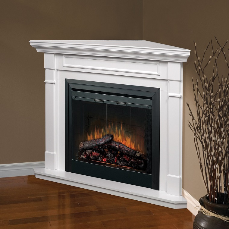 Corner Fireplace Surround