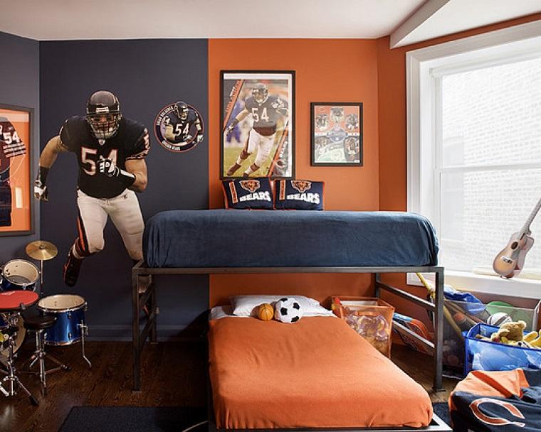 colori-pareti-camera-da-letto-arancio-grigio
