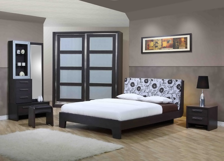 colori pareti camera da letto-due-sfumature-grigio