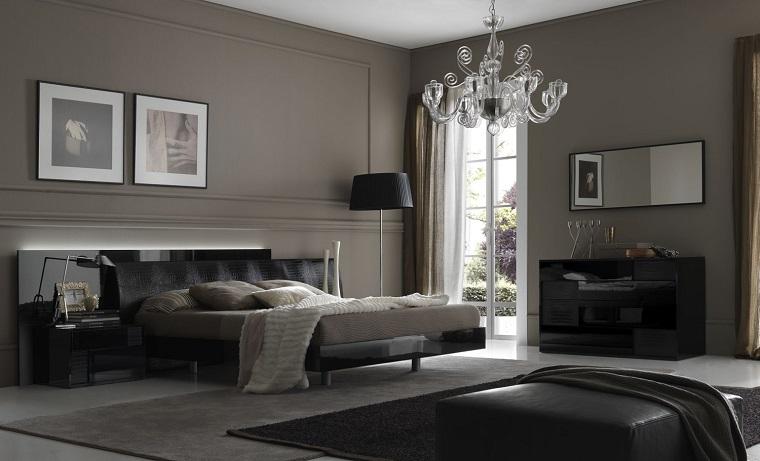 colori pareti camera da letto-grigio