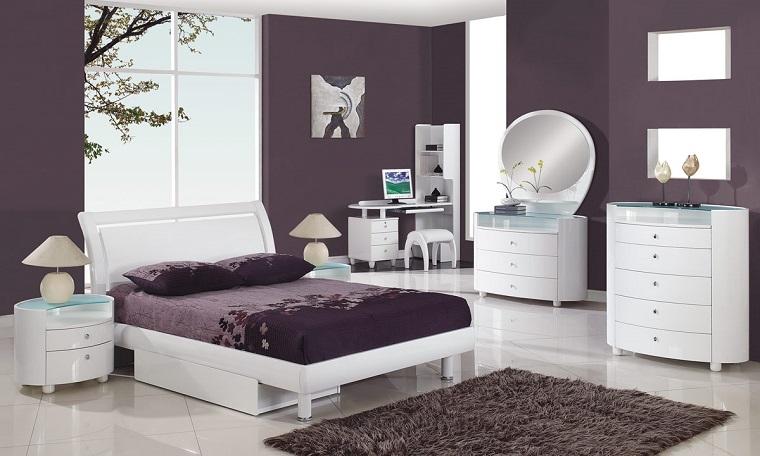 Colori pareti camera da letto tante idee con pitture e pannelli decorativi - Colori parete camera da letto ...