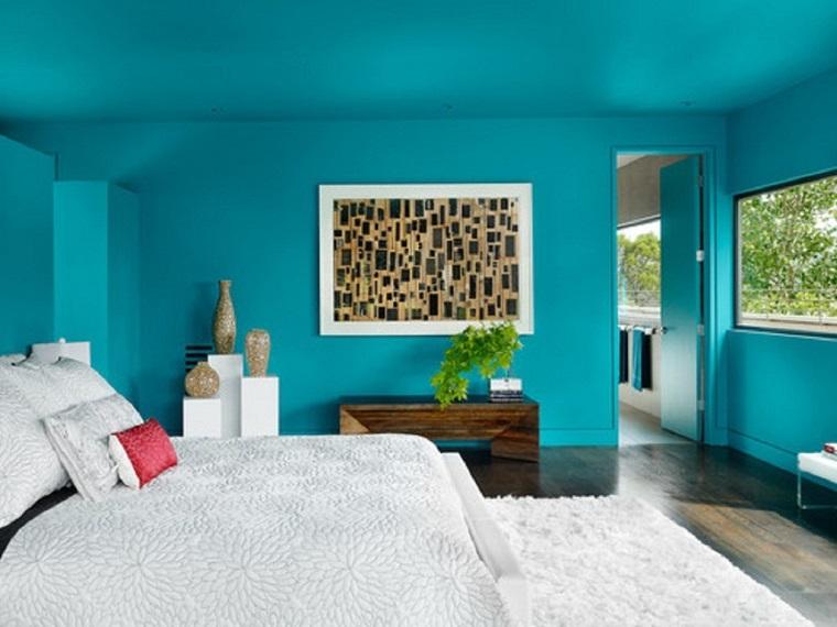 Colori pareti camera da letto: tante idee con pitture e pannelli ...