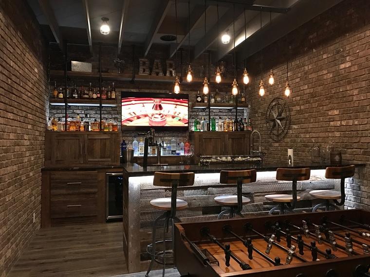 Taverna moderna come arredare uno spazio dedicato al for Arredare taverna