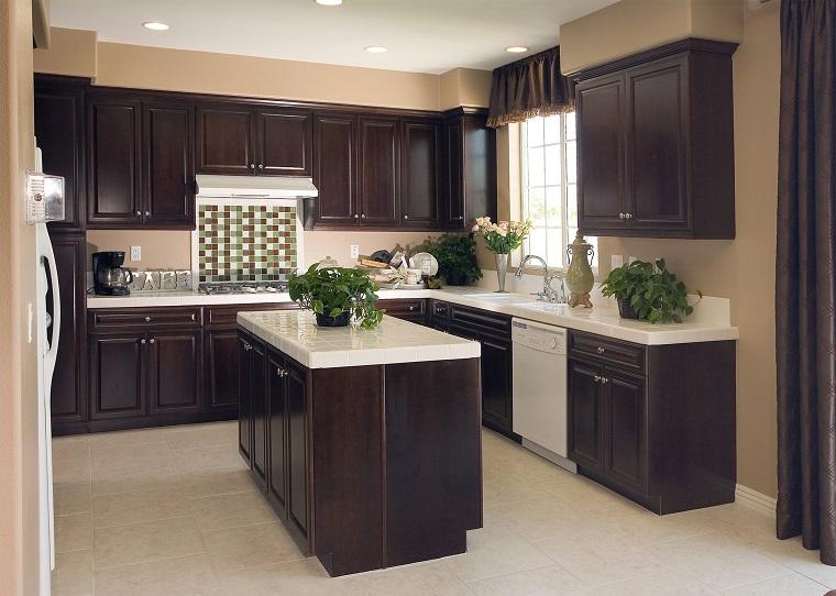 cucine-ad-angolo-moderne-mobili-legno-nero