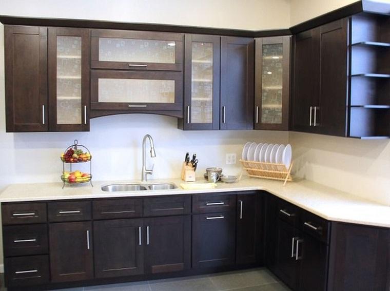 cucine-ad-angolo-moderne-mobili-neri-top-bianco