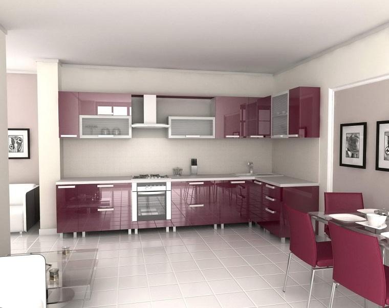 cucine-ad-angolo-moderne-mobili-viola