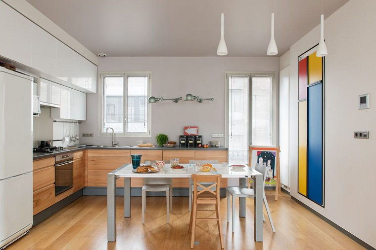 cucine-ad-angolo-moderne-pavimento-parquet