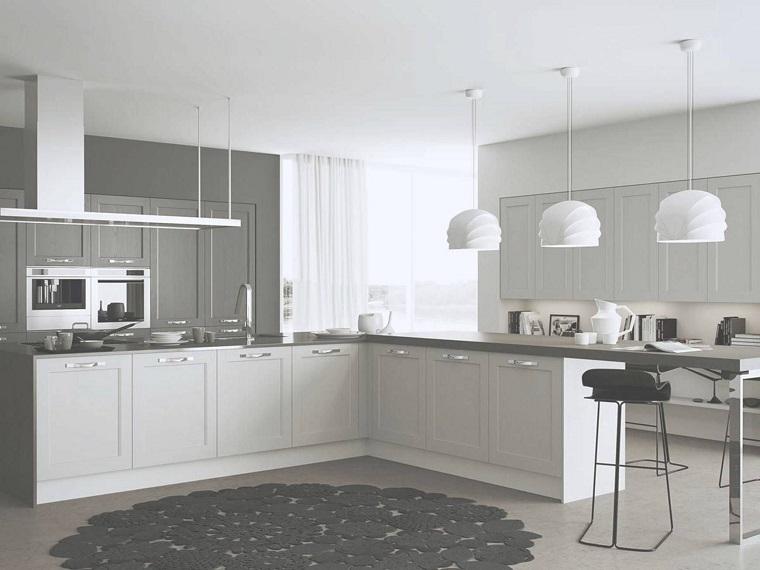 Cucine moderne ad angolo un ventaglio di soluzioni belle - Cucine bianche moderne ...
