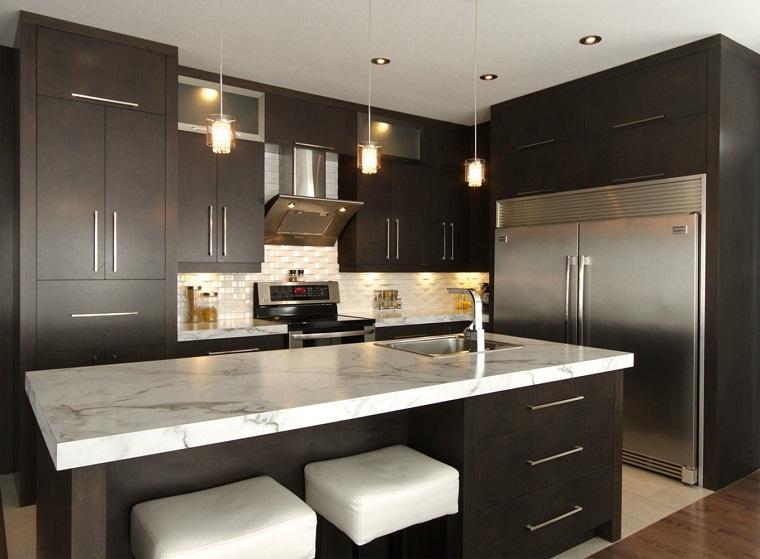 cucine moderne ad angolo-composizione-elegante