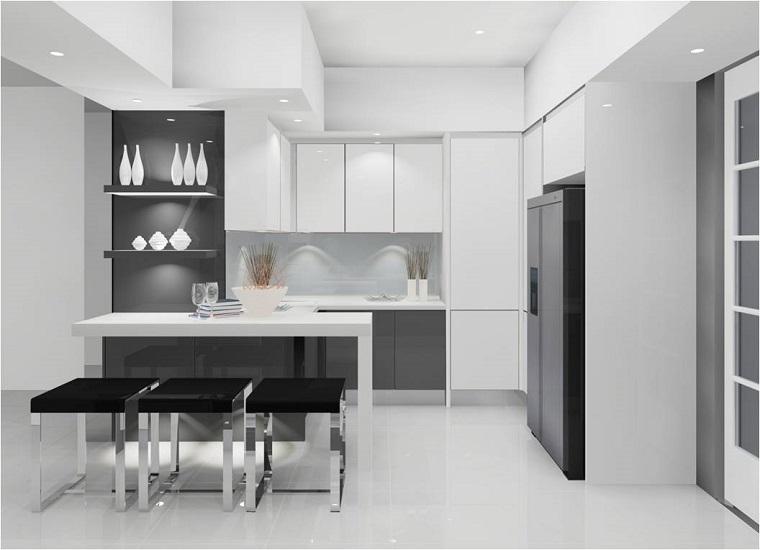 Cucine moderne ad angolo: un ventaglio di soluzioni belle e funzionali - Archzine.it