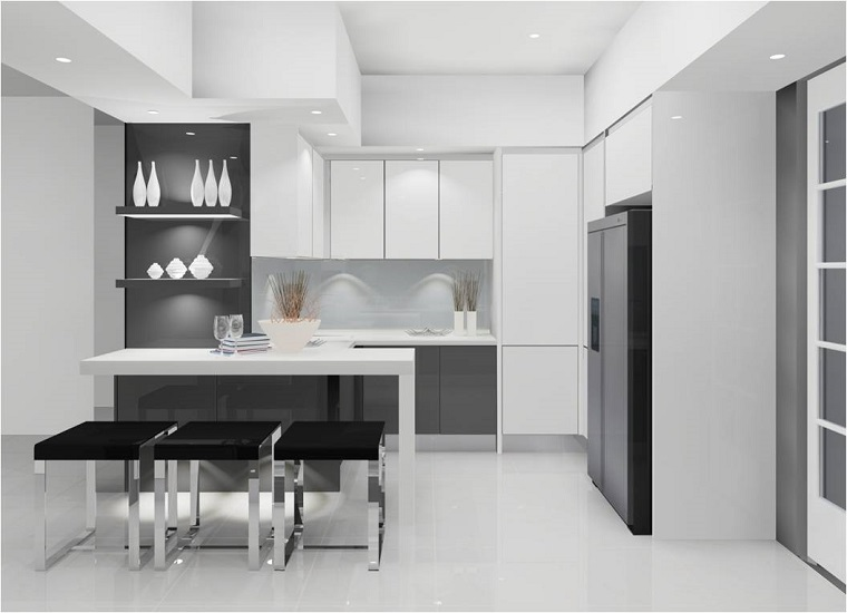 cucine-moderne-ad-angolo-mobili-bianchi-neri