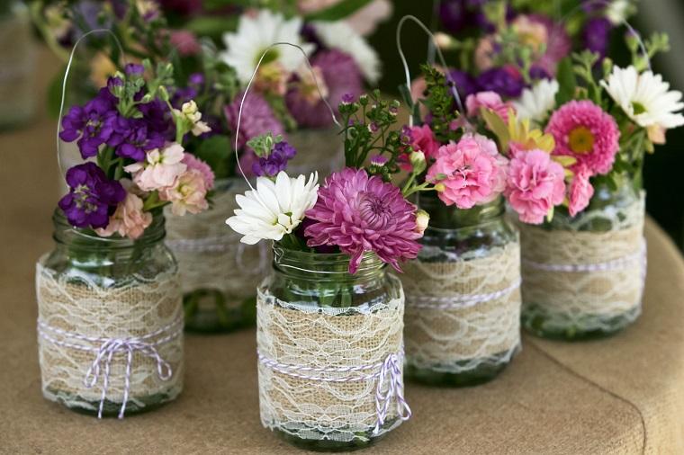 decorazioni casa-idea-fiori-vasetti