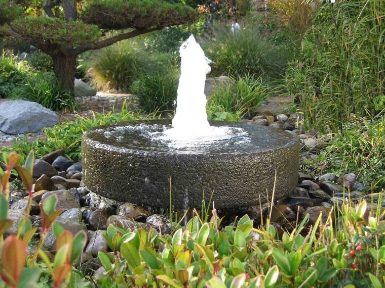 fontane da esterno-pietra-tonda