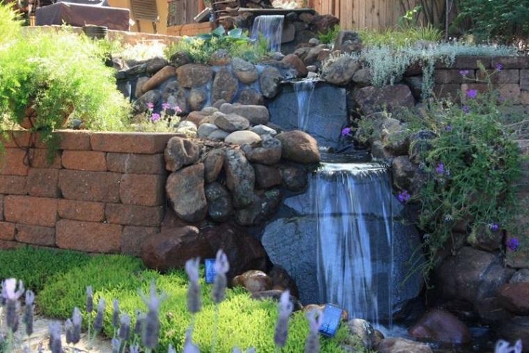 Fontane da esterno 50 proposte dal design spettacolare for Fontane a cascata da giardino