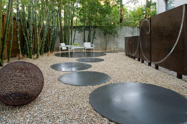 ghiaia per giardino-idea-patio