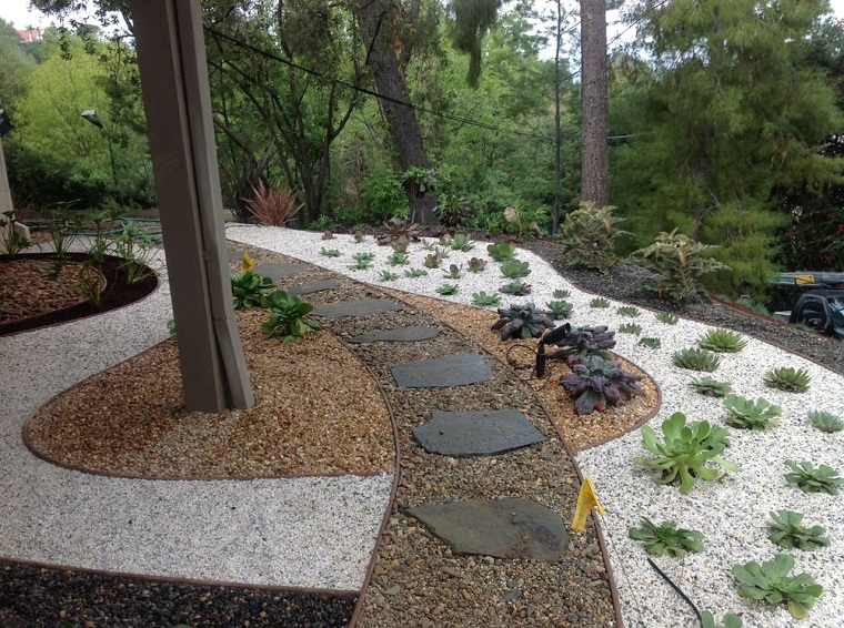Come Costruire Un Giardino Di Ghiaia : Ghiaia per giardino: 25 idee per realizzare spazi esterni strepitosi