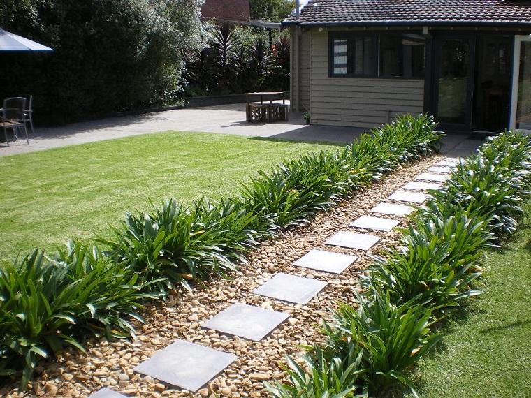 Ghiaia per giardino 25 idee per realizzare spazi esterni - Idee piante da giardino ...