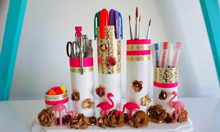 idee fai da te casa-barattoli-decorati