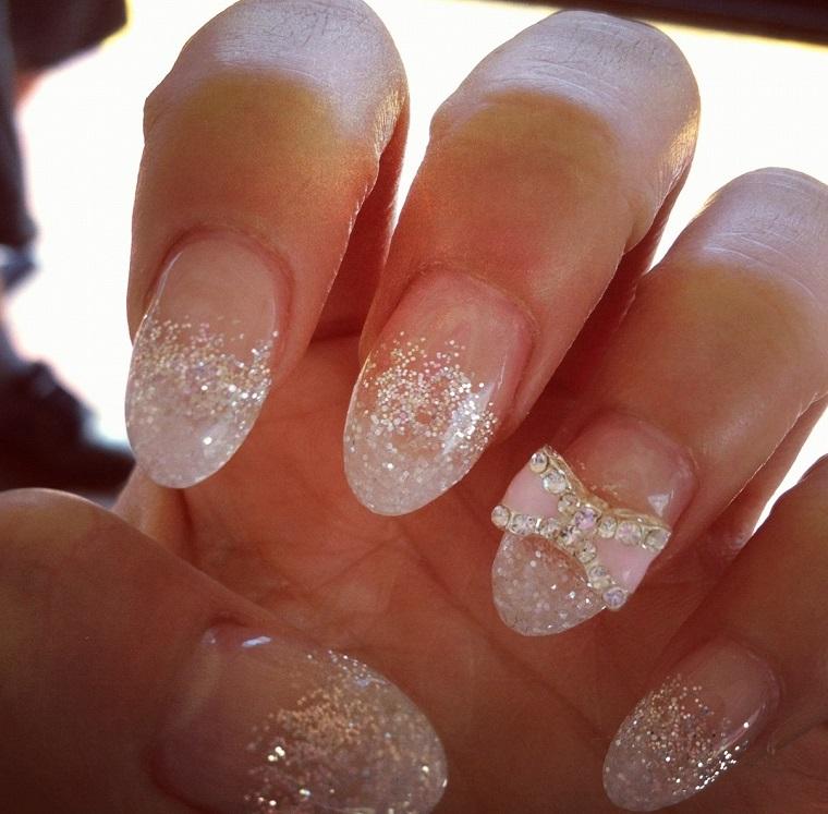nail art gel-decorazione-fiocco