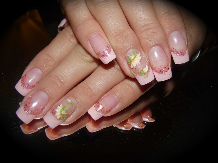 nail art gel-french-fiore