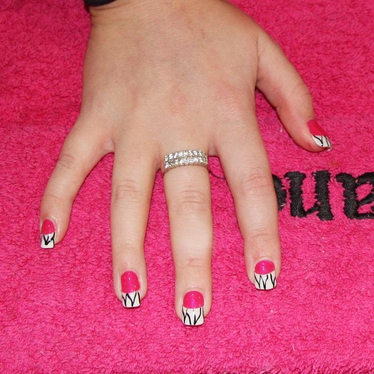 nail-art-gel-idea-zebrata