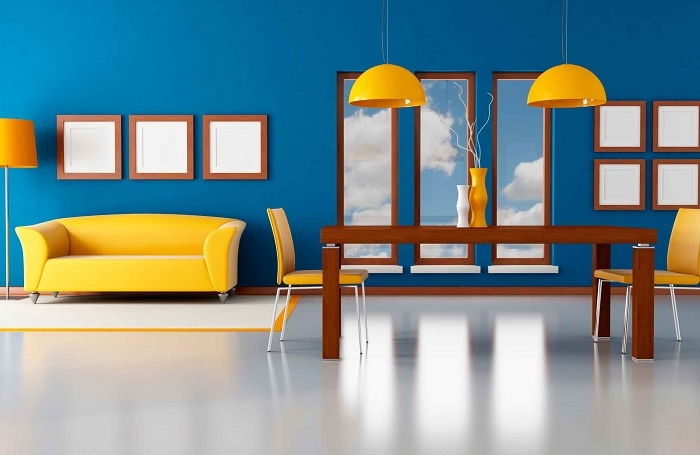 Come pitturare casa: 25 proposte che spaziano dal classico al ...